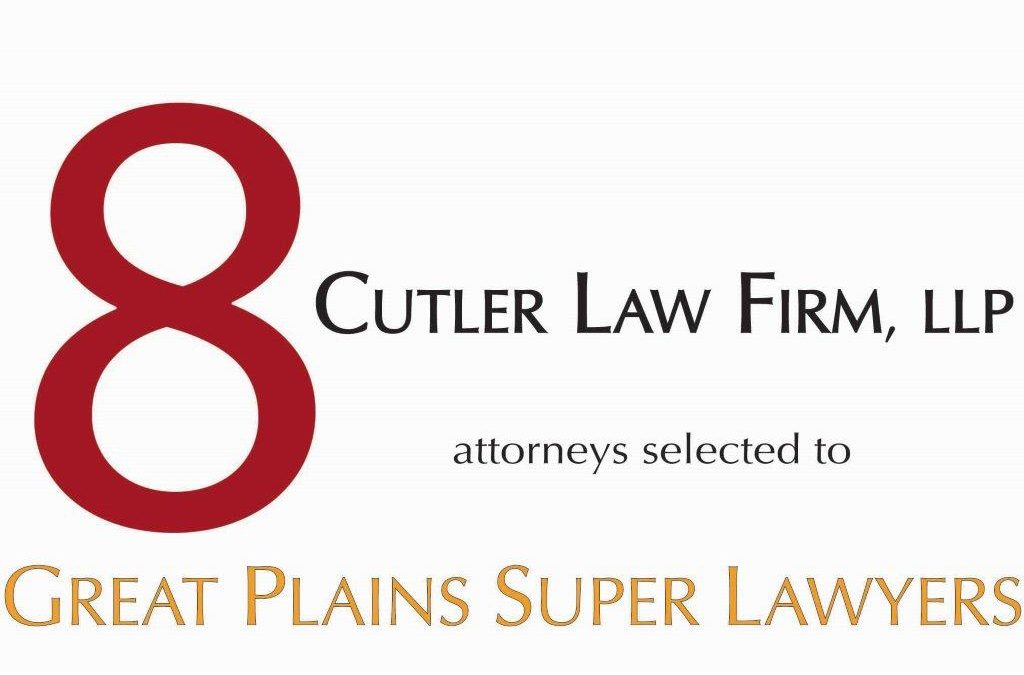 Cutler Law Firm Attorneys Selected As 2018 Super Lawyers