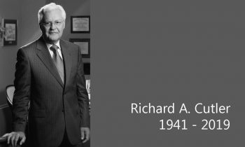 Cutler Law Firm Marks the Passing of Richard A. Cutler