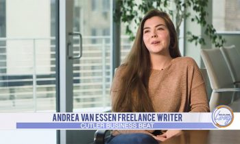 Andrea Van Essen featured on Cutler Business Beat