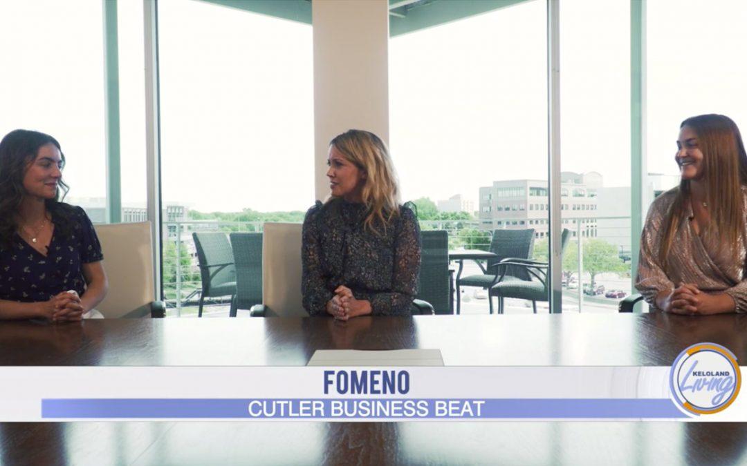Fomeno on Cutler Business Beat