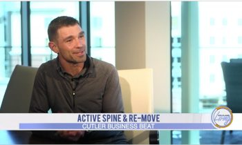 Wayne Huber with Active Spine featured on Business Beat
